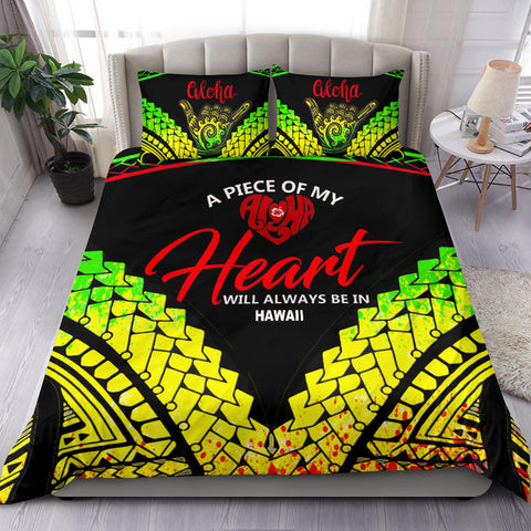 Image of Hawaii Bedding Set - A Piece Of My Heart - BN20