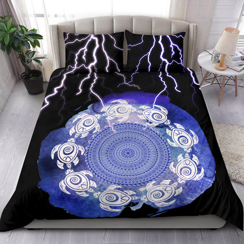 Polynesian Bedding Set - The Brave Turtle - BN20