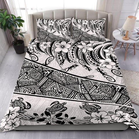 Image of Polynesian Bedding Set - Lizard And Turtle - BN20