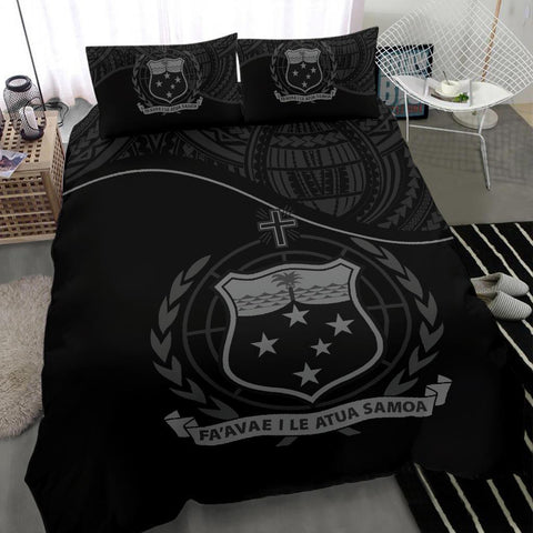 Image of Samoa Bedding Set Black A24