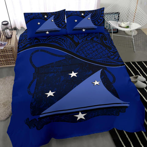 Image of Tokelau Bedding Set Dark Blue A24