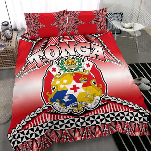 Tonga Coat Of Arms Bedding Set - BN12