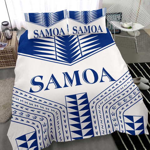 Image of Manu Samoa Bedding Set - White Version -  BN12
