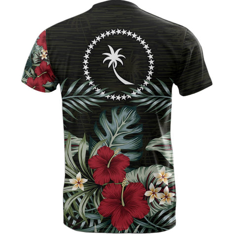 Image of Chuuk Hibiscus T-Shirt Back
