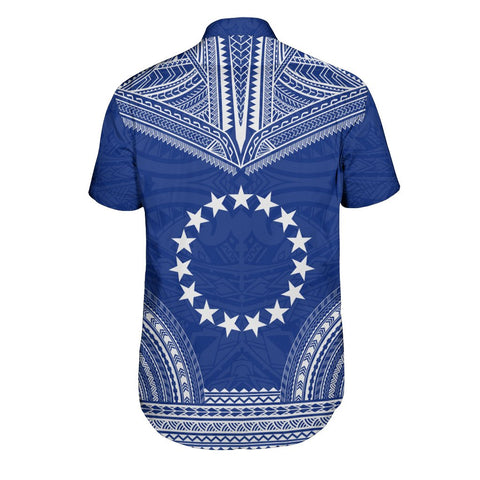 Cook Islands Polynesian Chief Shirt - Flag Version