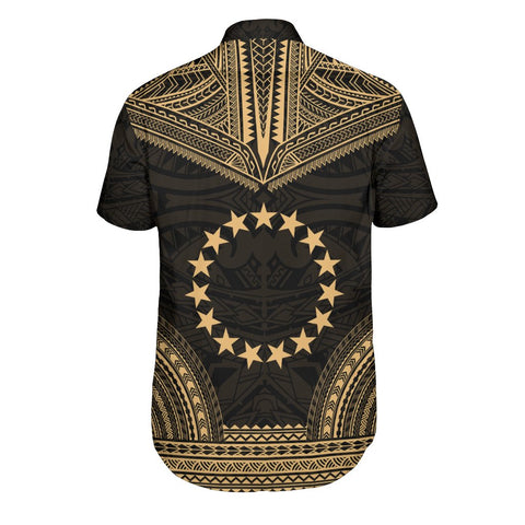 Cook Islands Polynesian Chief Shirt - Gold Version
