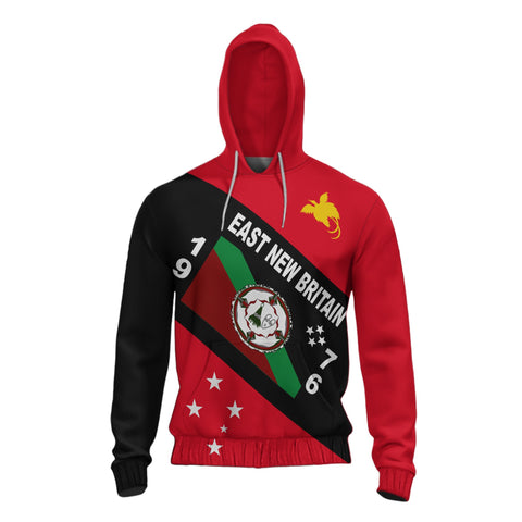 Papua New Guinea Hoodie - East New Britain Province - Bn10