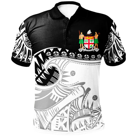 Image of Fiji Custom Personalised Polo Shirt - Dynamic Sport Style -BN20