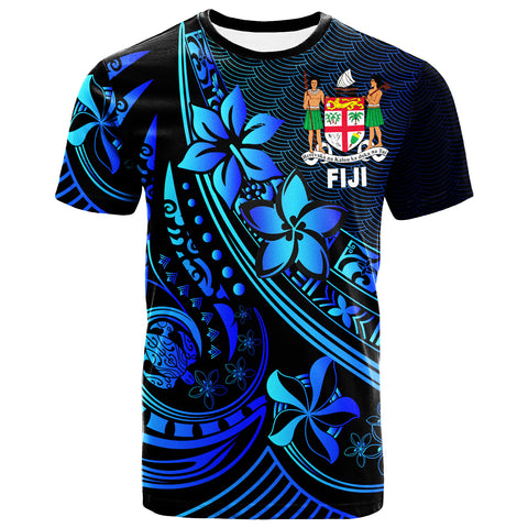 Fiji T-Shirt - The Flow Of The Ocean Blue - BN20