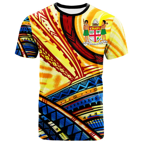 Fiji T-Shirt - The Twilight Of Fiji Paint Style - BN20