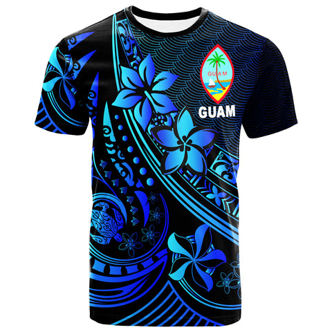 Guam T-Shirt - The Flow Of The Ocean Blue - BN20