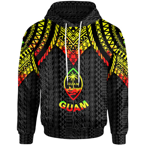 Image of Guam Hoodie - Polynesian Armor Style Reagge - BN39