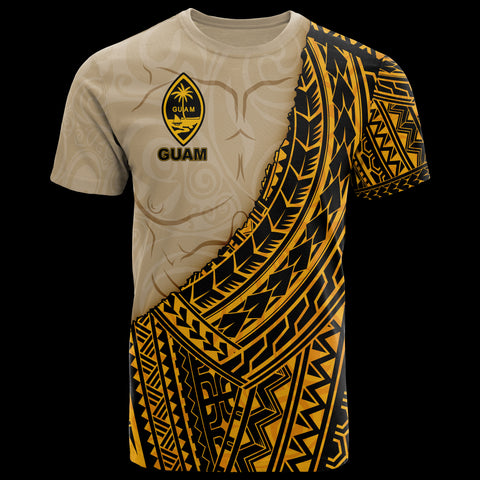 Image of Guam T-Shirt - Polynesian Wild Style - BN39