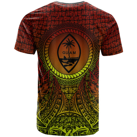 Image of Guam T-Shirt - Polynesian Circle Pattern - BN39