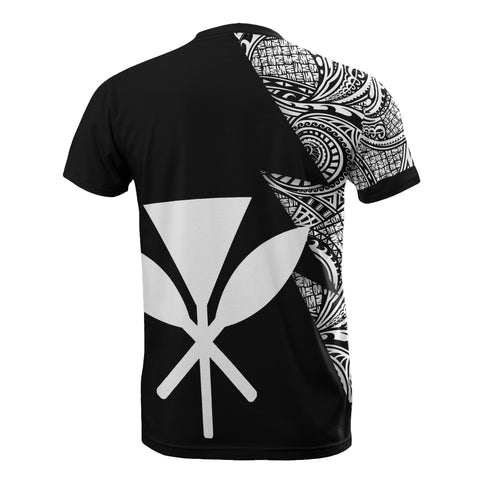 Hawaii Custom Personalised T-Shirt - Polynesian Pattern White Style - BN09