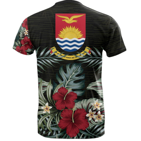 Image of Kiribati Hibiscus T-Shirt Back