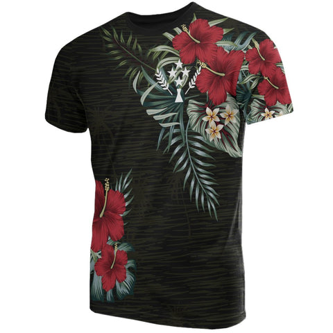 Image of Kosrae Hibiscus T-Shirt Front