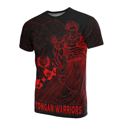 Tonga Polynesian All Over T-Shirt - Tongan Warriors