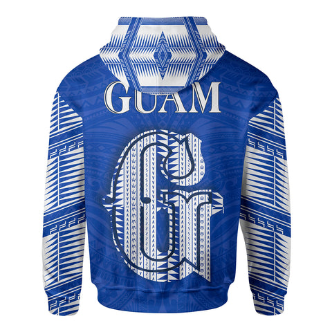 Guam Polynesia All Over Zip Hoodie - BN12