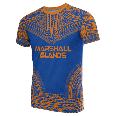 Marshall Islands Polynesian All Over T-Shirt - BN10