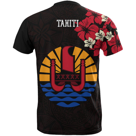 Tahiti Hibiscus Special T-Shirts Back