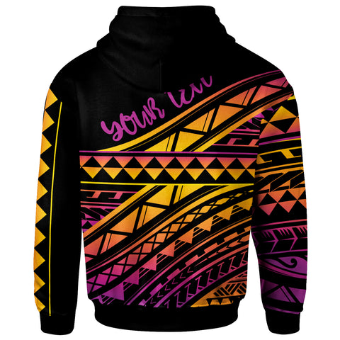 Image of Polynesian Custom Personalised Hoodie - Special Polynesian Ornaments - BN20