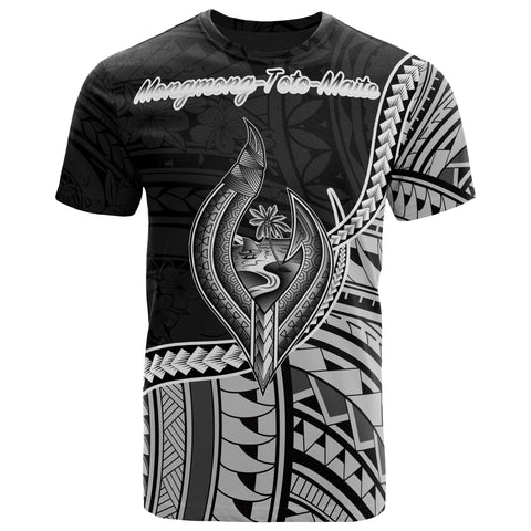 Image of Guam T-Shirt - Mongmong-Toto-Maite Polynesian Patterns