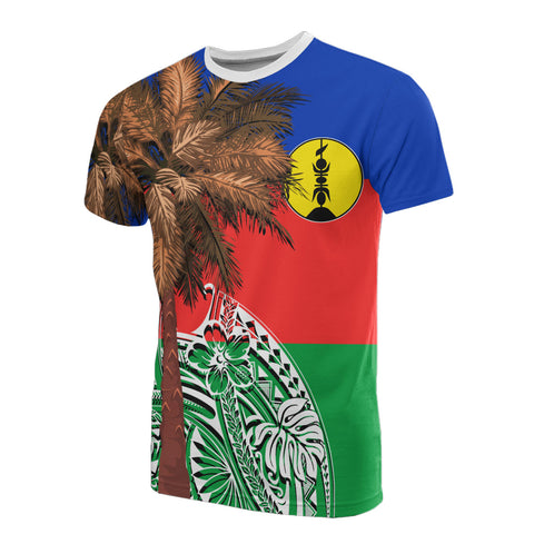 Image of New Caledonia All T-Shirt - Polynesian Palm Tree