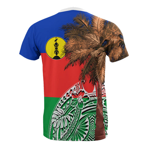 New Caledonia All T-Shirt - Polynesian Palm Tree