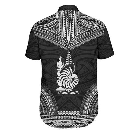Image of New Caledonia Polynesian Chief Shirt - Black Version