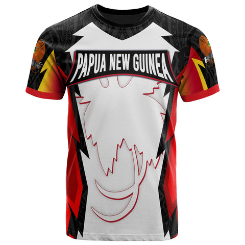 Papua New Guinea T-Shirt - PNG Coat Of Arms