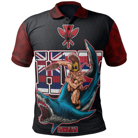 Hawaiian Warrior Polo Shirt