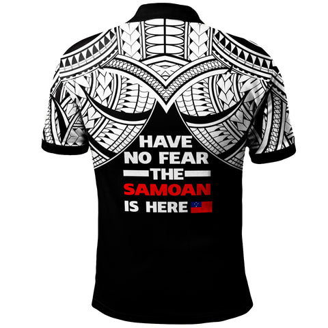 Samoa Polo Shirt - Have No Fear The Samoan Is Here - BN20