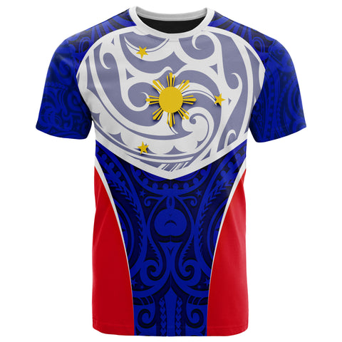 Philippines T-Shirt - Polynesian Pattern Sport - BN39