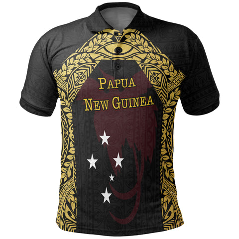 Papua New Guinea Polo Shirt - Erudite Eye - BN11