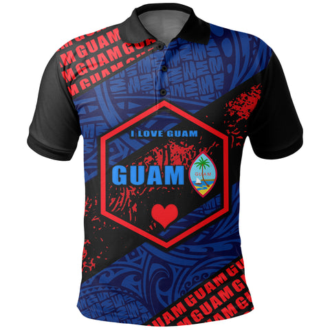 Guam Polo Shirt - I Love Guam