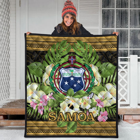 Samoa Premium Quilt - Polynesian Gold Patterns Collection - BN01