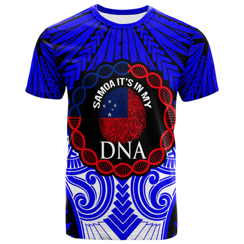 Image of Samoa T-Shirt - Samoa DNA Color Blue - BN20