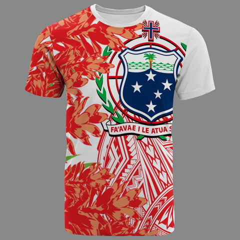 Image of Samoa T-Shirt - The Teuila Polynesian Pattern - BN39