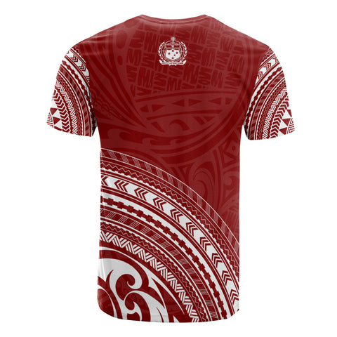 Samoa All Over T-Shirt - Polynesian Tribal - Red Version