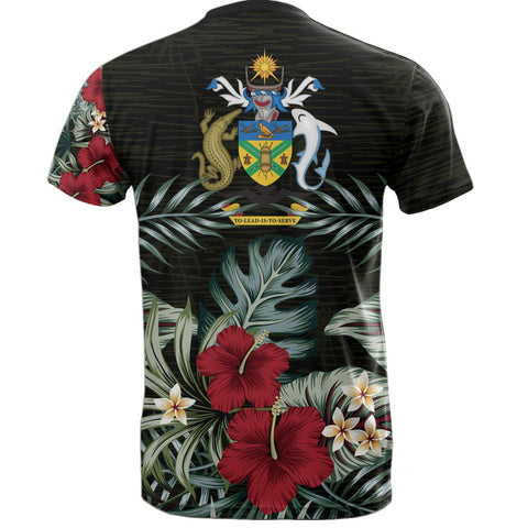 Solomon Islands Hibiscus T-Shirt Back