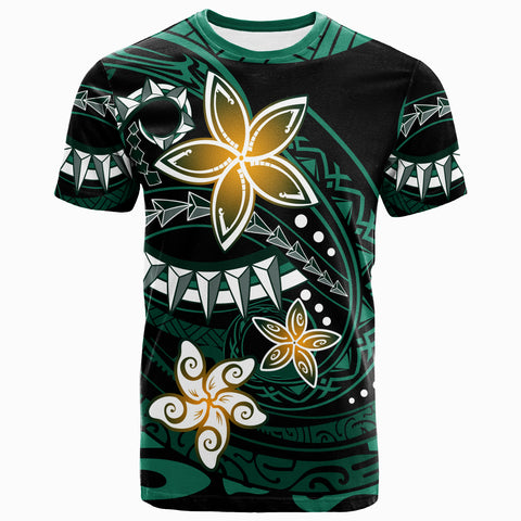 Polynesian T-Shirt - Spring Style Black Color - BN20