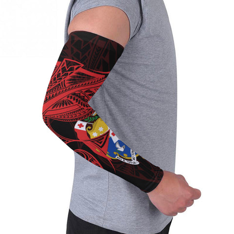 Tonga Arm Sleeve (Set of 2) - Seal Tonga With Curve Patterns - BN01