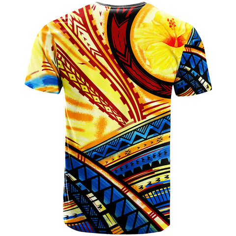 Hawaii T-Shirt - The Twilight Of Hawaii Paint Style - BN20
