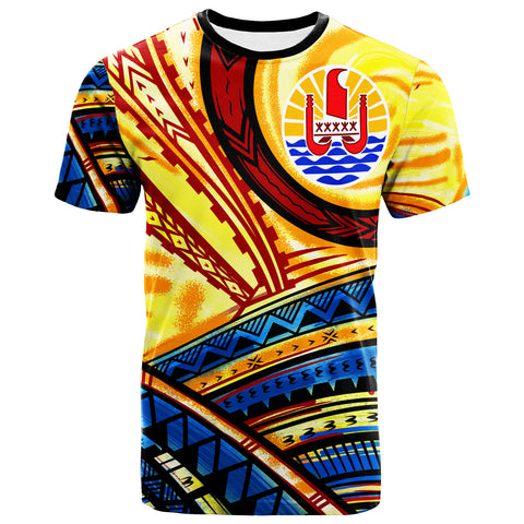 Image of Tahiti T-Shirt - The Twilight Of Tahiti Paint Style - BN20