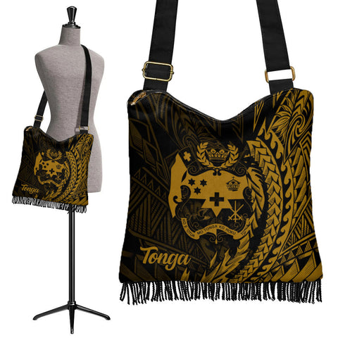 Image of Tonga Boho Handbag - Wings Style