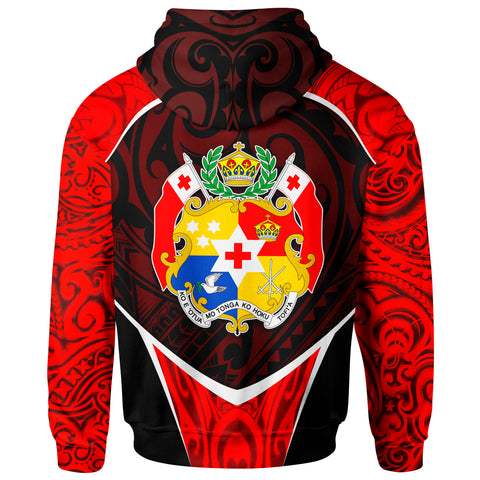 Image of Tonga Zip Up Hoodie - Polynesian Sport Style - BN39