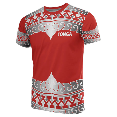 Tonga Polynesian All Over T-Shirt - Wave Style