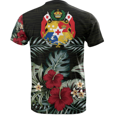 Image of Tonga Hibiscus T-Shirt Back