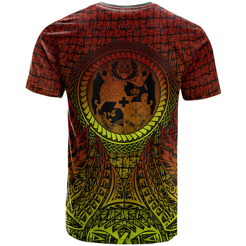 Tonga T-Shirt - Polynesian Circle Pattern - BN39